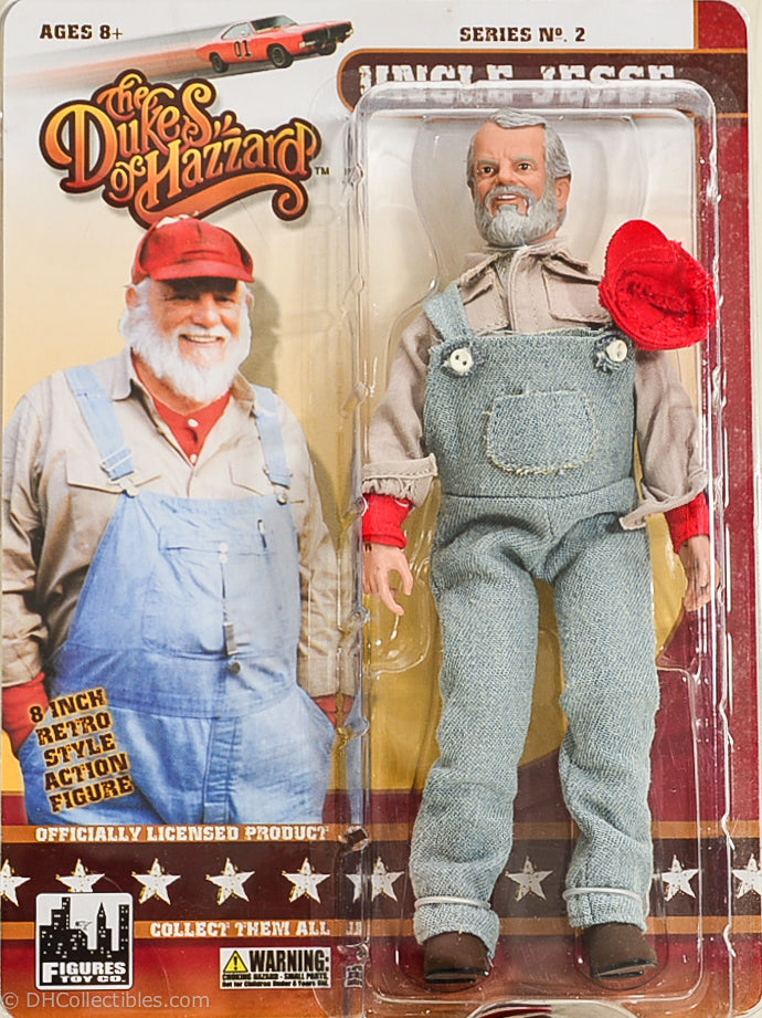 2014 The Dukes of Hazzard Series 2 Uncle Jesse Action Figure