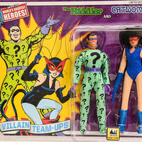 "2015 DC Superhero Limited Edition Series 4 Two-Packs -  *RARE* The Riddler & Catwoman 8"" Action Figures"
