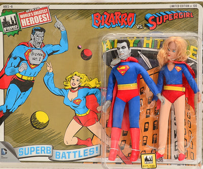 2015 DC Superhero Limited Edition Series 4 Two-Packs -  Bizarro vs  Supergirl 8