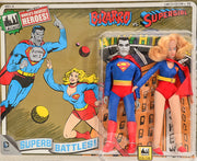 "2015 FTC Superhero Limited Edition Series 4 Two-Packs -  Bizarro vs  Supergirl #16 8"" Action Figures"