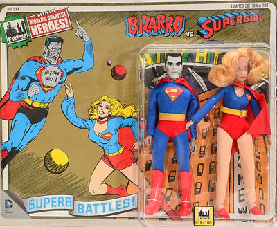 2015 FTC Superhero Limited Edition Series 4 Two-Packs -  Bizarro vs  Supergirl #16 8