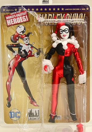 2016 DC Comics 8 Inch Retro Mego Batman Harley Quinn Action Figure Limited Edition of 500