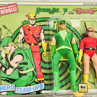2015 DC Comics Series 3 Hero Team-ups Two Pack - Green Arrow and Speedy Limited Edition Action Figures