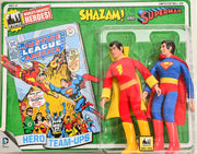 2014 DC Comics Series 1 Hero Team-ups Two Pack - Shazam and Superman  Limited Edition Action Figures
