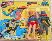 2014 DC Comics Series 1 Hero Team-ups Two Pack - Supergirl and Batgirl  Limited Edition Action Figures