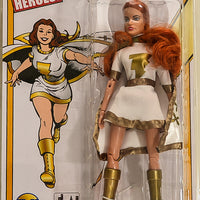 2016 Figures Toy Co Limited Edition Blue & Gold Variant Mary Marvel! Retro 8 Inch Action Figures