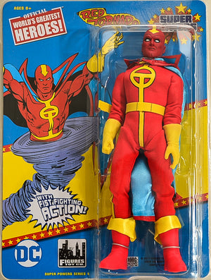 2017 Figures Toy Co Retro 8 Inch Red Tornado Action Figure