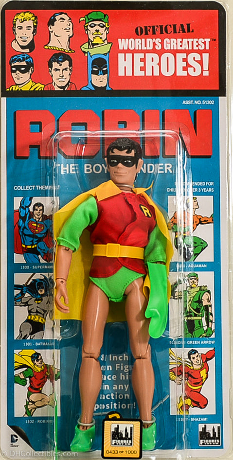 "2015 DC Comics Kresge Style Robin The Boy Wonder 8"" Action Figure Limited Edition"