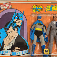 2014 DC Comics Secret Identities Two Pack - Bruce Wayne and Batman Limited Edition Action Figures