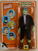 "2016 Figures Toy Co DC Comics Solomon Grundy 8"" Mego Retro Action Figure"