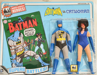 2014 DC Comics Series 1 Classic Rivalries Two Pack - Batman vs Catwoman Limited Edition Action Figures