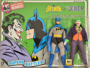 2014 DC Comics Series 1 Classic Rivalries Two Pack - Batman vs The Joker Limited Edition Action Figures