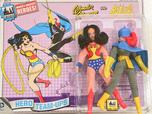 2015 DC Comics Series 3 Hero Team-ups Two Pack - Wonder Woman and Batgirl Limited Edition Action Figures