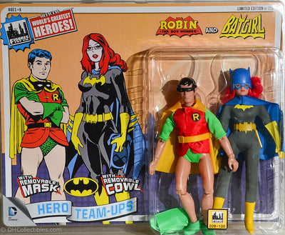 2014 DC Comics Series 2 Hero Team-ups Two Pack - Robin & Batgirl  Limited Edition Action Figures