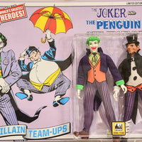 2014 DC Comics Series 1 Criminal Minds Two Pack - The Joker and the Penguin Limited Edition Action Figures