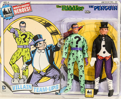 2015 DC Superhero Limited Edition Series 4 Two-Packs -  The Riddler & Penguin 8