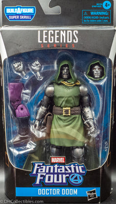 2019 Fantastic Four Marvel Legends Doctor Doom BAF Super Skrull - Action Figure