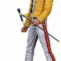 2006 NECA Freddie Mercury 7-inch Figure - The Magic Tour '86 Action Figure