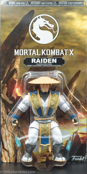 2017 Funko Savage World Mortal Kombat X Raiden Action Figure
