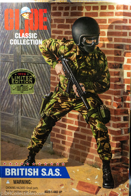 1996 Hasbro GI Joe Classic Collection British S.A.S. (Black Soldier) Vintage Action Figure