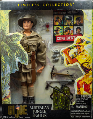 2001 Hasbro GI Joe Timeless Collection Australian Jungle Fighter Vintage Action Figure