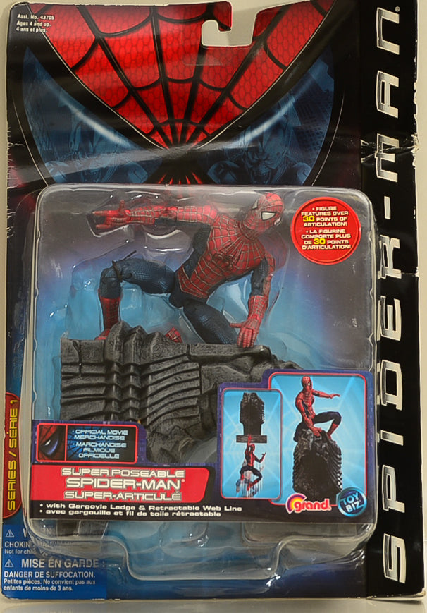 ToyBiz 2002 Spider-Man Super Poseable Action Figure