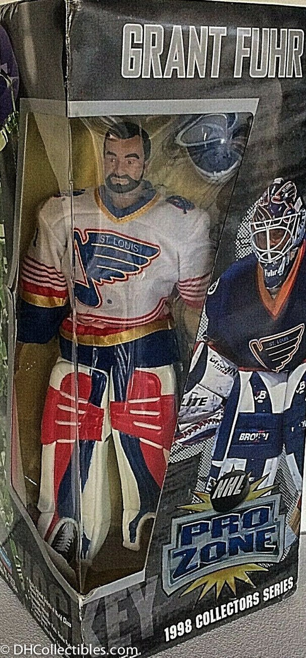 1998 Playmates NHL Pro Zone Collectors Series Grant Fuhr 12 Inch Figure