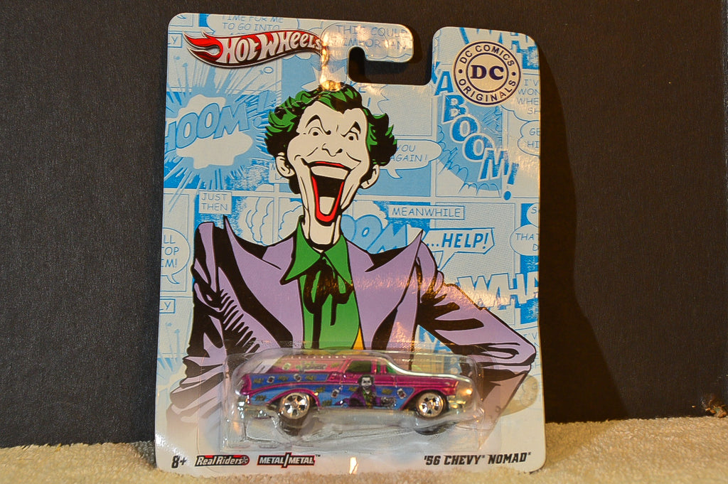 Hot Wheels '57 Chevy Nomad - DC Comics Series - Joker