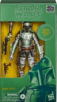 2020 Hasbro Star Wars Black Series Carbonized Boba Fett Action Figure