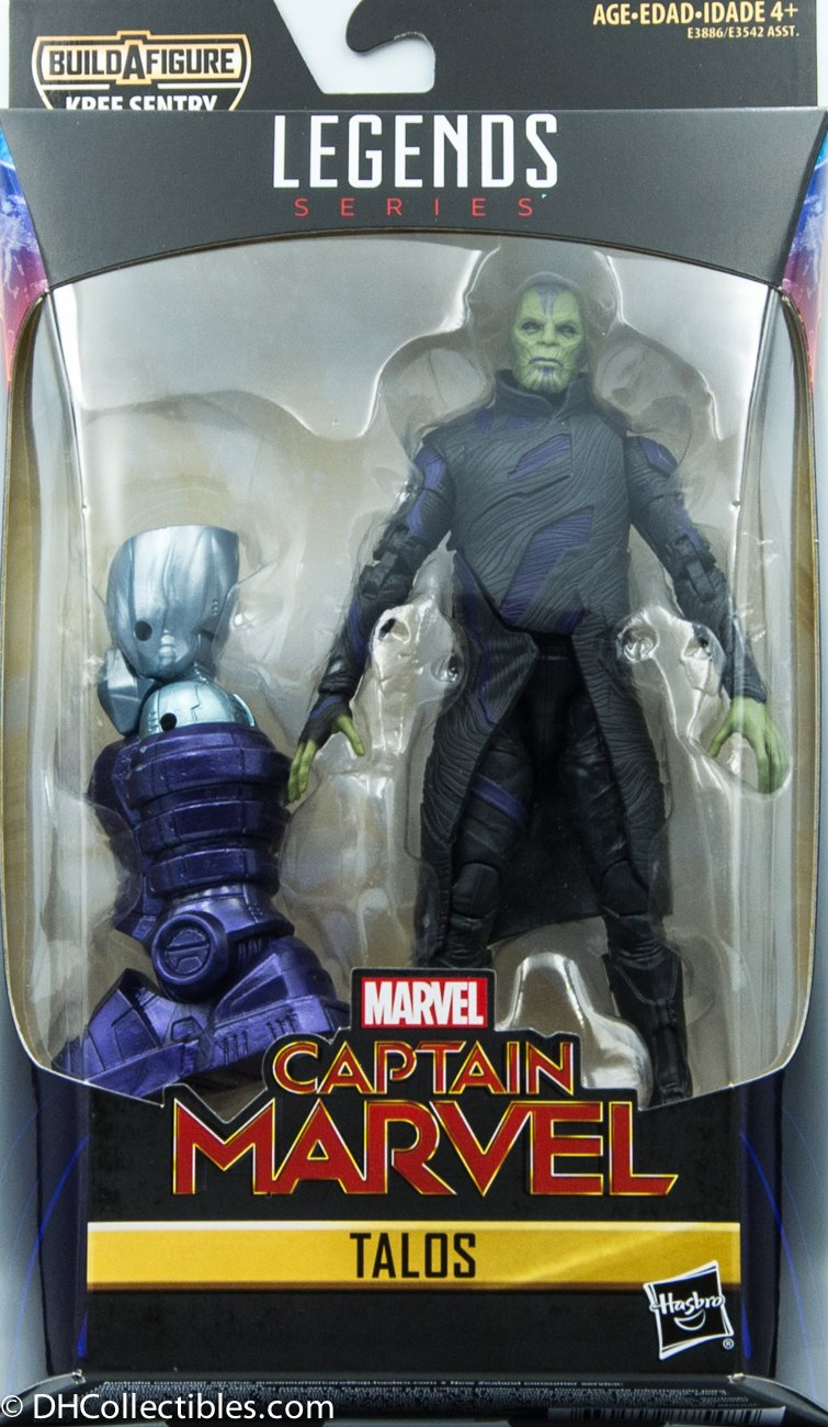 2018 Hasbro Captain Marvel Legends SeriesTalos BAF Kree Sentry Action Figure