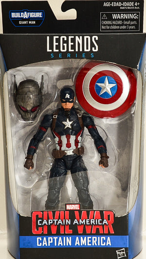 2015 Marvel Civil War Captain America Action Figure BAF Giant Man