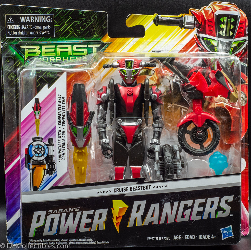 2018 Power Rangers Beast Morphers Cruise Beastbot - Action Figure