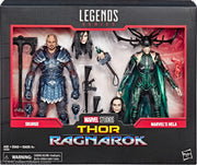 2018 Hasbro Marvel Legends Thor Ragnarok Series Skurge & Marvel's Hela Action Figures
