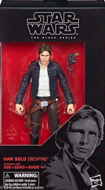 2018 Hasbro Star Wars Black Series Han Solo ( Bespin ) 6 Inch Action Figure