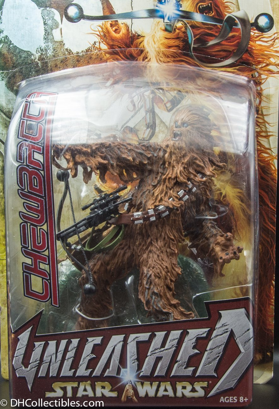 2003 Hasbro Star Wars Unleashed Chewbacca 8 Inch Action Figure