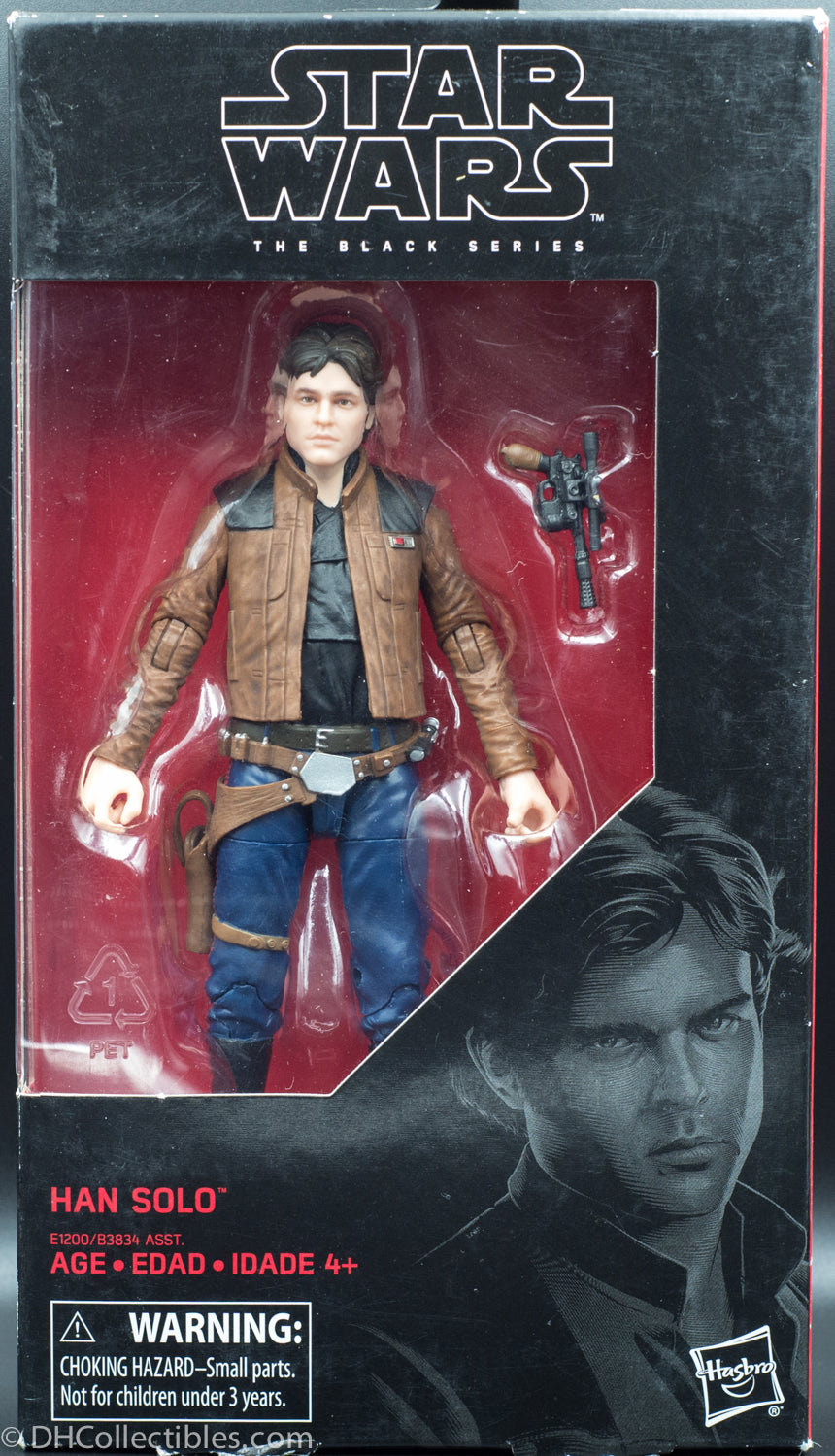 2017 Star Wars the Black Series Han Solo - Action Figure