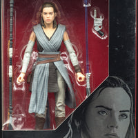2016 Star Wars the Black Series Rey Jedi Training - Action Figure
