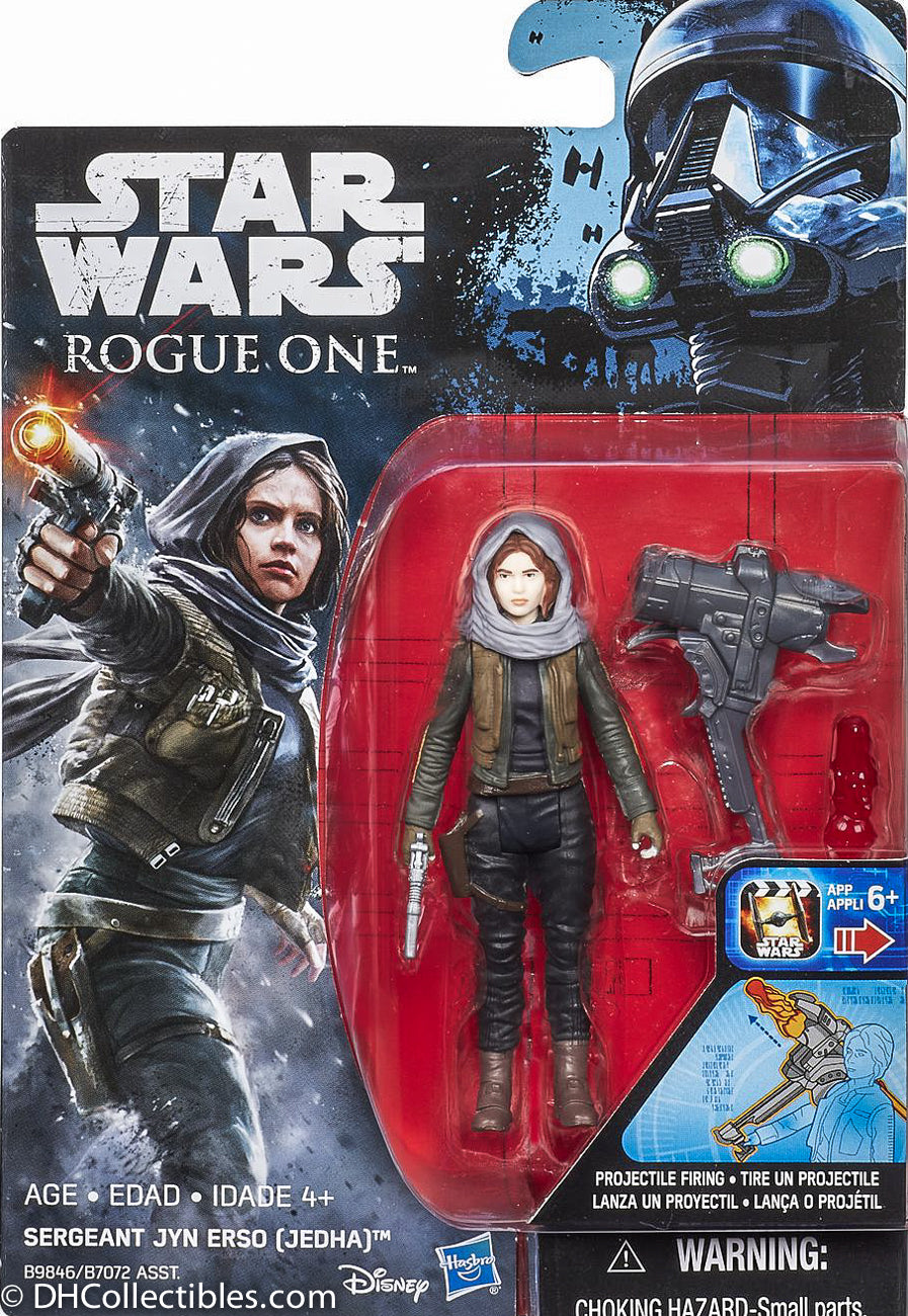 2016 Hasbro Star Wars Sergeant Jyn Erso 3.75 Inch Action Figure