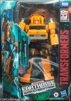 2019 Transformers War for Cybertron Earthrise Voyager Grapple