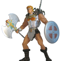 2001 Masters of the Universe Battle Sound He-Man with Dragon Invasion Video -  Action Figure