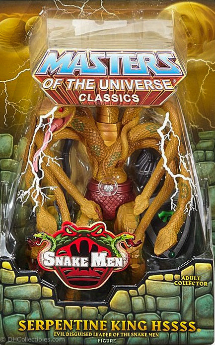 2015 Masters of the Universe Classics Serpentine King Hssss Action Figure