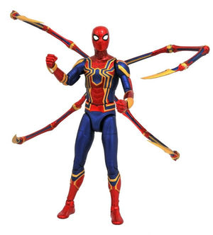 "Marvel Select Special Collector Edition Avengers Infinity War - Iron Spider-Man 7"" Action Figure"