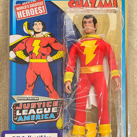 "Figures Toy Co  World's Greatest Heroes  - JLA Series 1 Special Edition Shazam Action Figure 8"" Mego Retro"