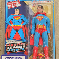 "Figures Toy Co - Justice League of America Series 1 Special Edition Superman - Action Figure 8"" Mego Retro"