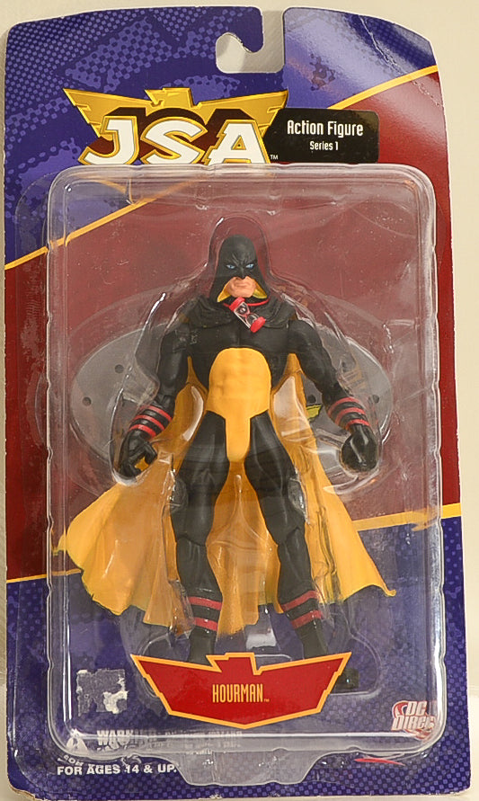 2001 DC Direct Justice Society of America Golden Age Hourman Action Figure