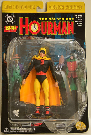 2001 DC Direct Justice League of America Series 1 Hourman -  Action Figure
