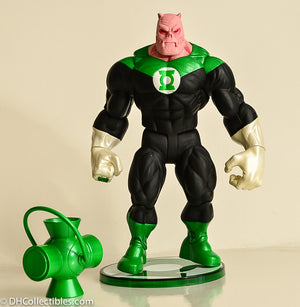 2005 DC Direct Green Lantern Series 1 Kilowog Action Figure Complete - Loose