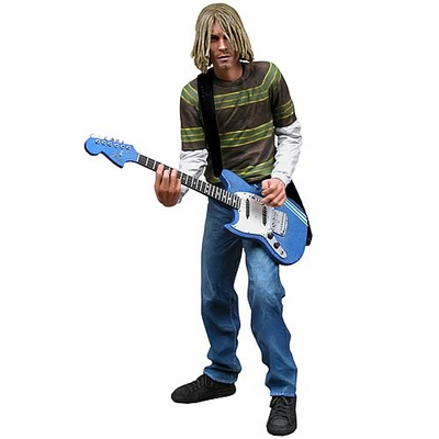 2007 NECA Kurt Cobain 18-Inch Electronic Action Figure