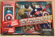 "Marvel Limited Edition Collector Set Captain America - Action Figure 8"" Mego Retro"