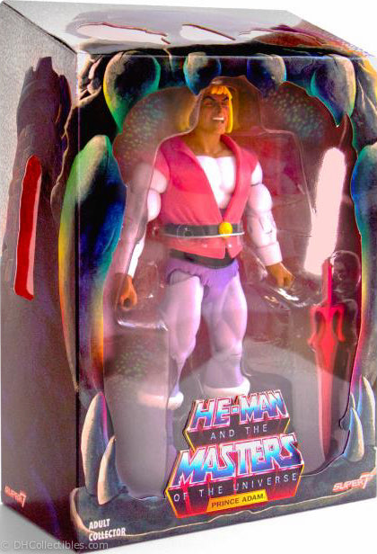 2018 Super 7 Masters of the Universe Classics Laughing Prince Adam Action Figure